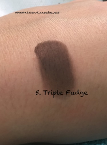 5. Triple fudge