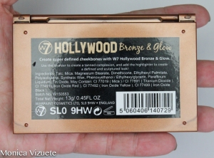 Hollywood W7 Bonze & glow